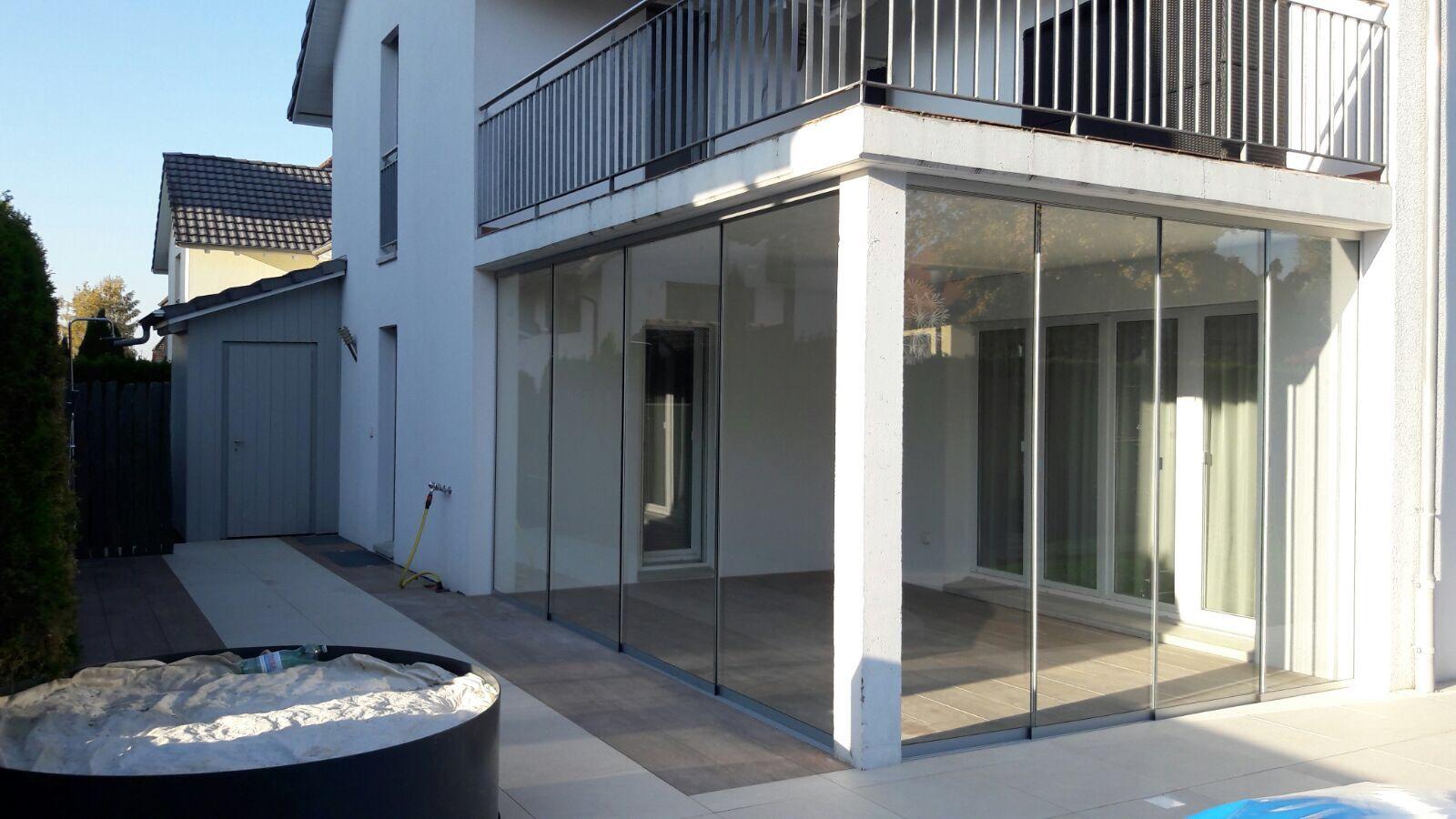 Balkon Und Sitzplatzverglasungen Meier Ag Eisen Und Metallbau